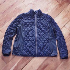 Jackets & Blazers - Farwest Black Quilted Lightweight Jacket Size 2XL